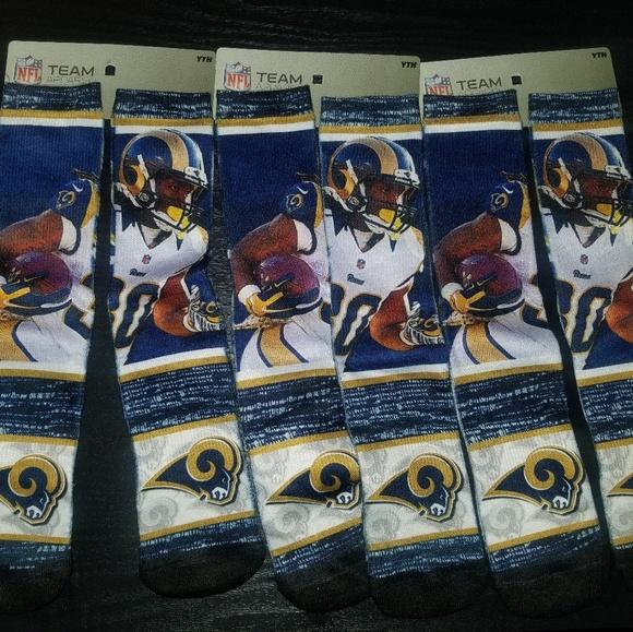 29bb0d8e Todd Gurley Rams Socks! NWT